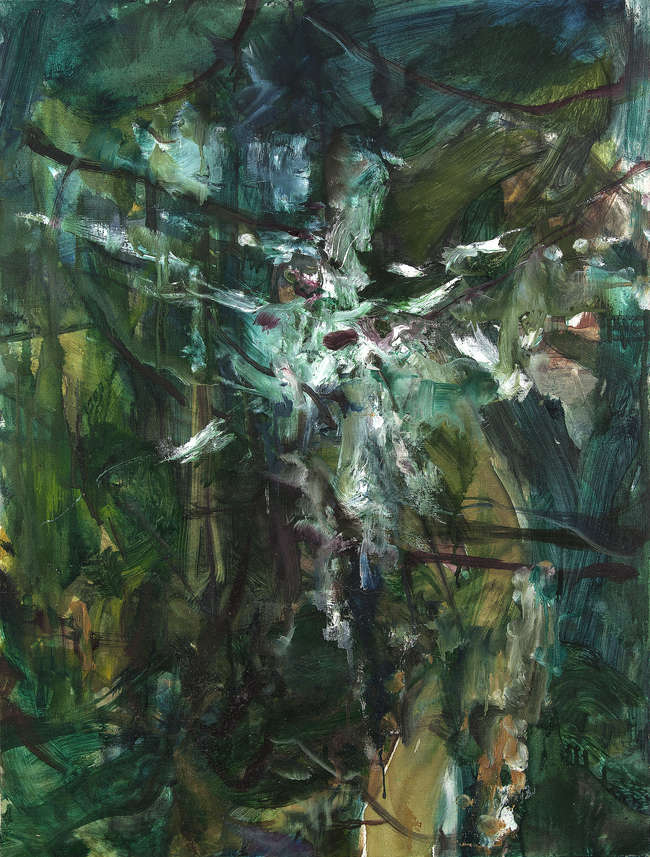 Barrie Cooke HRHA (1931-2014) Forest Light (Borneo Series)