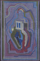 Evie Hone HRHA (1894-1955) Abstract Composition Oil on canvas, Fine Irish Art at Adams Auctioneers