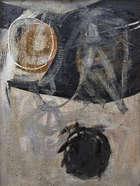 Nancy Wynne-Jones HRHA (1922-2006) Mourning for Hector Oil on canvas, 121 x 90cm (47¾ x 35½) Si..., Fine Irish Art at Adams Auctioneers
