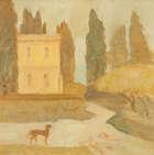 Cherith McKinstry (1928-2004) An Italian House Oil on board, Fine Irish Art at Adams Auctioneers