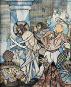 Christopher Campbell (1908-1972) The Flaying of Jesus Mixed media on paper, 84 x 68cm (33 x 26¾'..., Fine Irish Art at Adams Auctioneers