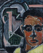 David Clarke (1920-2005) Head of a Boy, 28 x 23cm (11 x 9