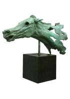 Rory Breslin (b.1963) Artemision Horse Study Bronze on marble plinth base, 71cm high x 74cm long ..., Fine Irish Art at Adams Auctioneers
