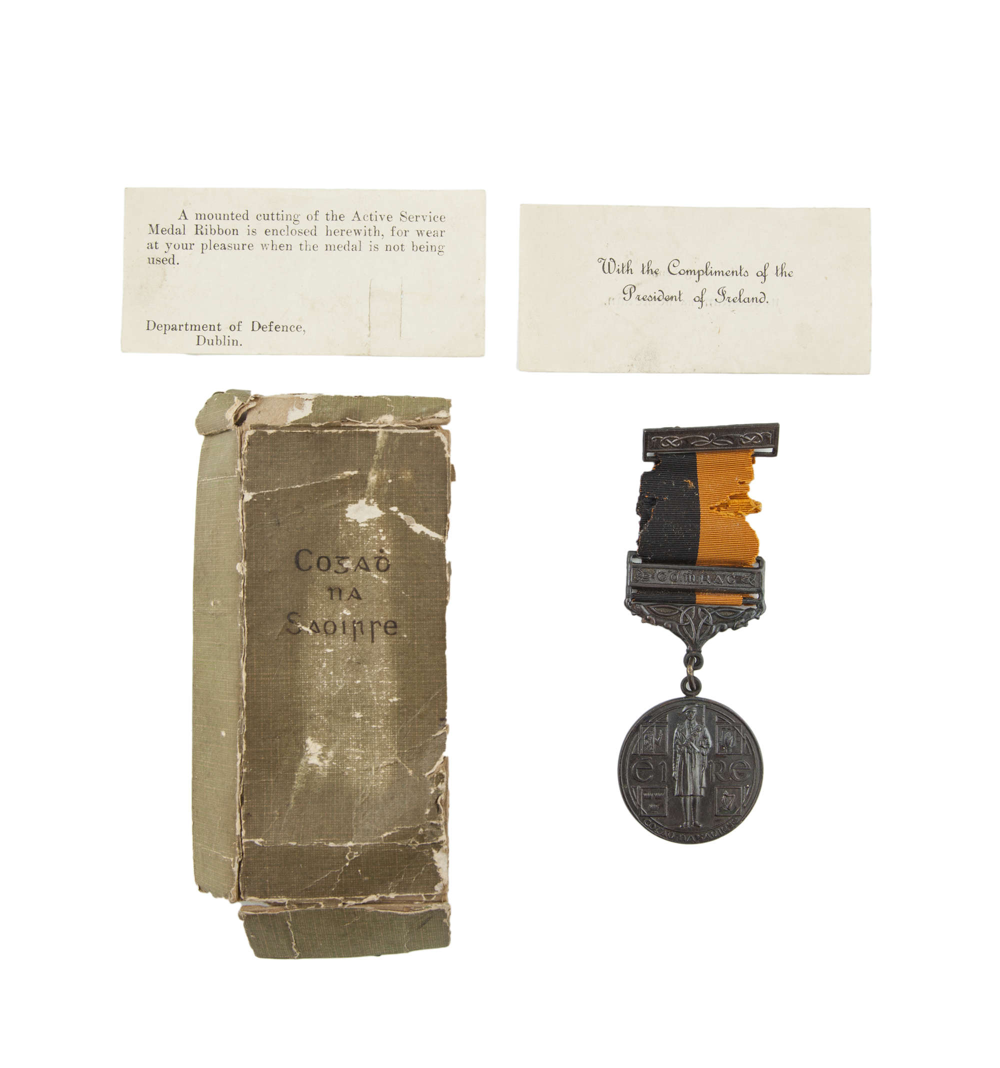 LOT:157 | A 1919-21 WAR OF INDEPENDENCE MEDAL, with Comrac Bar