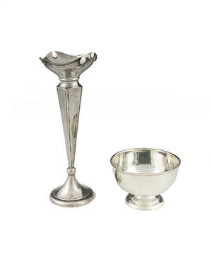 Boardman Silversmiths 272P Goblet Pewter Water Goblet