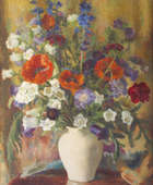 Moyra Barry (1886-1960) Mixed Bunch Oil on canvas, 76 x 63.5cm (30 x 25'') Signed Provenance:  Ge..., Fine Irish Art at Adams Auctioneers
