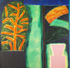 William Crozier HRHA (b.1930) Garden at Night Oil on canvas, 163 x 168 (64 x 66'') Signed Exhibit..., Fine Irish Art at Adams Auctioneers