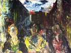 Jack Butler Yeats, RHA (1871 - 1957) Three traders of Dublin Oil on canvas, 51 x 61cm (20 x 24'')..., Fine Irish Art at Adams Auctioneers