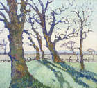 Letitia Marion Hamilton RHA (1878-1964) A View Through Trees Oil on canvas, 42 x 46cm (16.5 x 18'..., Fine Irish Art at Adams Auctioneers