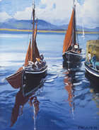 Cecil Maguire, RHA RUA, (b.1930) After Regatta, Roundstone '04 Oil on canvas, 46 x 35cm, (18.25 x..., Fine Irish Art at Adams Auctioneers
