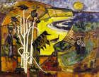 Norah McGuinness HRHA (1901-1980) In the Algarve (1961) Oil on canvas, 73 x 91cm (28 x 36'')  Pos..., Fine Irish Art at Adams Auctioneers