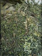 Patrick Swift (1927-1983) Far Oak Ridge Oil on canvas, 68 x 53cm (26.35 x 21'')  Estate stamp verso, Fine Irish Art at Adams Auctioneers