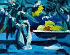 Brian Ballard (b.1943) Lemons & Jug  Oil on canvas, 40.5 x 51cm, (16 x 20'') Signed and dated 200..., Fine Irish Art at Adams Auctioneers