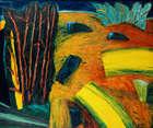 William Crozier HRHA (b.1930) Murphy's Field  Oil on canvas, 152 x 182.5cm, (59.8 x 71.8'') Signe..., Fine Irish Art at Adams Auctioneers