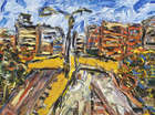 Phil Kelly (1950-2010) Circuito (Ring Road) Oil on canvas, 30 x 40cm (11.75 x 15.75'') Signed, in..., Fine Irish Art at Adams Auctioneers