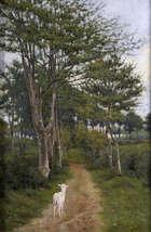 Joseph Malachy Kavanagh 107 RHA (1856-1918) A Breton Byeway Oil on canvas,  66 x 43.2cm (26 x 17'..., Fine Irish Art at Adams Auctioneers
