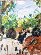 Phil Kelly (1950-2010) Chapultepec - Domingo Oil on canvas, 40.5 x 30.5cm (16 x 12'') Signed. Ins..., Fine Irish Art at Adams Auctioneers