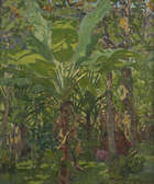 MARY SWANZY HRHA (1882-1978) Samoa Oil on canvas, 76 x 63.5cms (30 x 25'') Signed Provenance: Ori..., Fine Irish Art at Adams Auctioneers