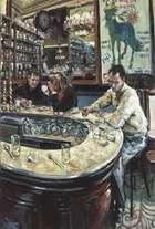 Hector McDonnell RUA (b.1947) Le Fer á Cheval, Paris Oil on canvas, 91 x 61cm (35¾ x 24) Signed..., Fine Irish Art at Adams Auctioneers