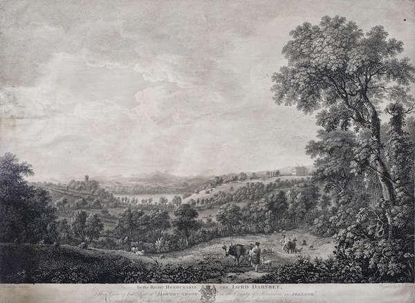 Lot 640 William Ashford 1746 1824 A View Of Dawson S Grove Co Monaghan C 1774