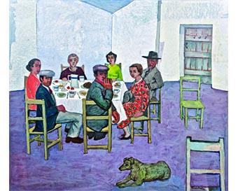 Gerard Dillon, Art & Friendships