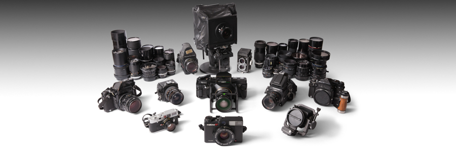 The Photographic Equipment of the Late Jacqueline O'Brien