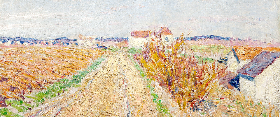 Roderic O'Conor (1860-1940) Chemin Menant a Grez - Sold for €210,000